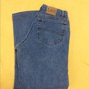 NWOT Altered Mens Lee Jeans 33 x 27